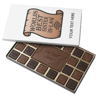 World's Best Sister-in-law Assorted Chocolates