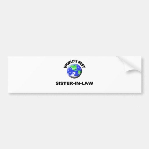 World's Best Sister-In-Law Bumper Sticker