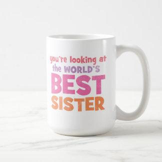 World's Best Sister Mugs