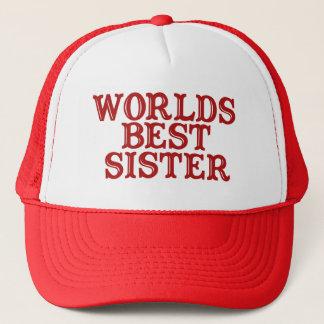 Worlds Best Sister Trucker Hat