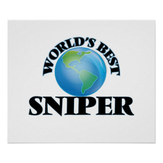 World's Best Sniper Posters