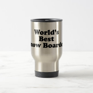 World's Best Snow Boarder Travel Mug