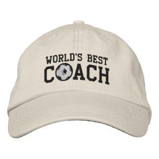 Worlds Best Soccer Coach Cap