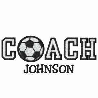 World's Best Soccer Coach Embroidered Jacket