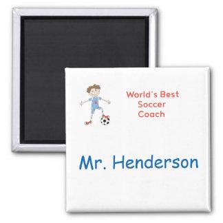 World's Best Soccer Coach Magnet