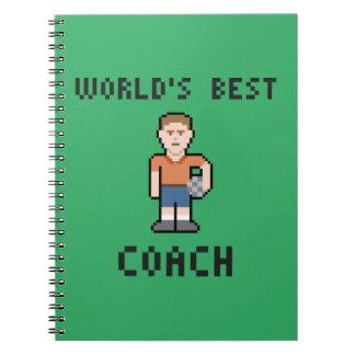 World's Best Soccer Coach Paper Notebook