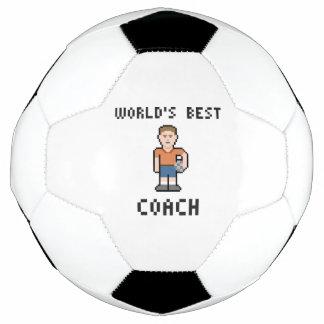 World's Best Soccer Coach Soccer Ball