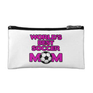world's best soccer mom wristlet