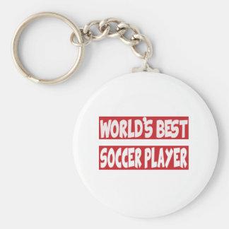 World's Best Soccer Player. Keychain