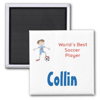 World's Best Soccer Player Magnet