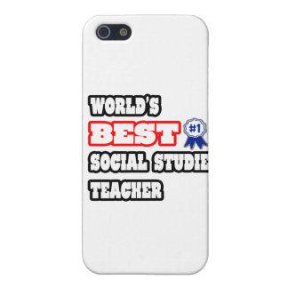 World's Best Social Studies Teacher iPhone 5 Case