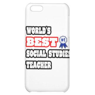 World's Best Social Studies Teacher iPhone 5C Case