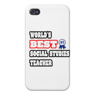 World's Best Social Studies Teacher iPhone 4/4S Cover