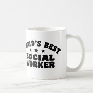 World's Best Social Worker Coffee Mugs