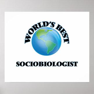 World's Best Sociobiologist Posters