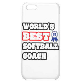 World's Best Softball Coach iPhone 5C Cover