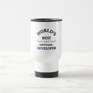 World's best Software Developer Travel Mug