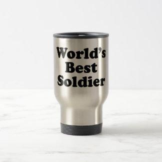 World's Best Soldier Travel Mug
