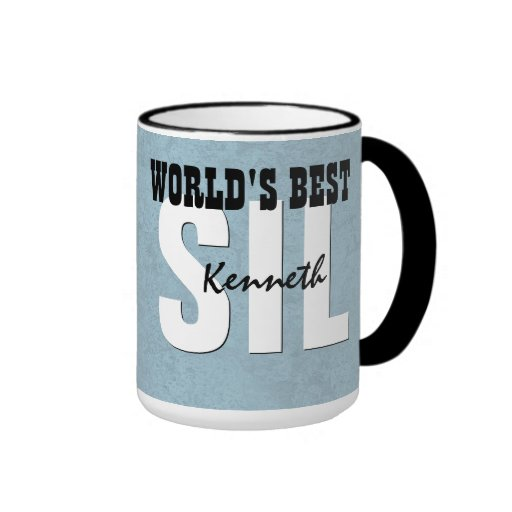 world 39 s best son in law blue custom name v9 mugs zazzle. Black Bedroom Furniture Sets. Home Design Ideas