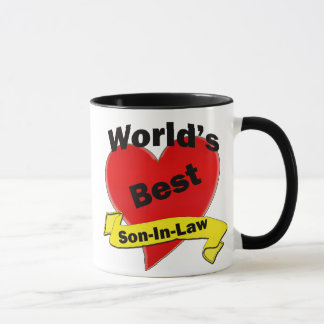 World's Best Son-In-Law Mug