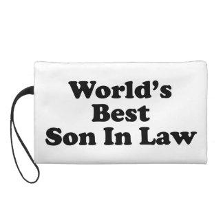 World's Best Son In Law Wristlet Purse
