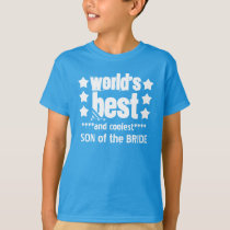 World's Best SON of BRIDE with STARS A11 T-Shirt