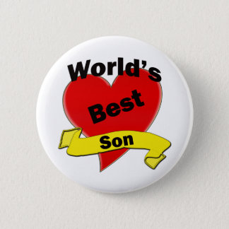 World's Best Son Pinback Button