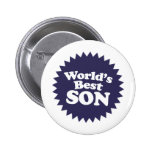 World's Best Son Pinback Buttons