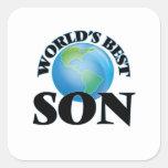 World's Best Son Square Sticker