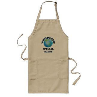 World's Best Special Agent Long Apron