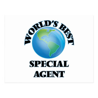 World's Best Special Agent Postcards