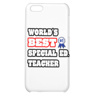 World's Best Special Ed. Teacher iPhone 5C Covers