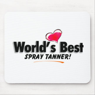 World's Best Spray Tanner Products Mouse Pad