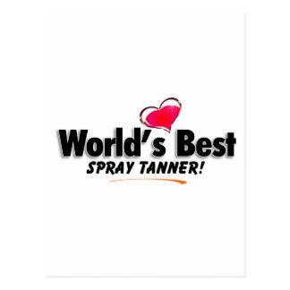 World's Best Spray Tanner Products Postcard