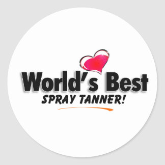 World's Best Spray Tanner Products Sticker