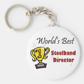 World's Best Steelband Director keychain