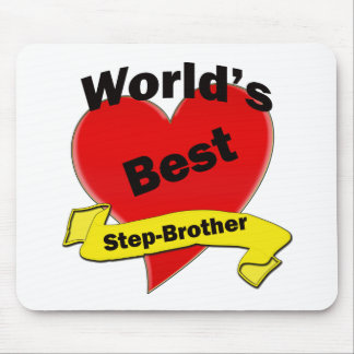 World's Best Step-Brother Mouse Pad