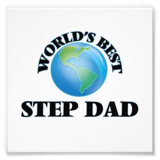 World's Best Step-Dad Photo Print