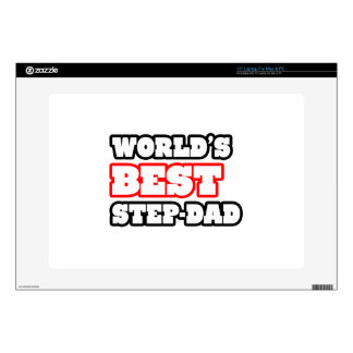 World's Best Step-Dad Decal For Laptop
