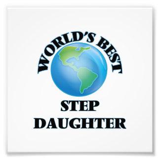World's Best Step-Daughter Photo Art