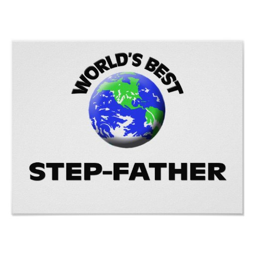 World's Best Step-Father Poster