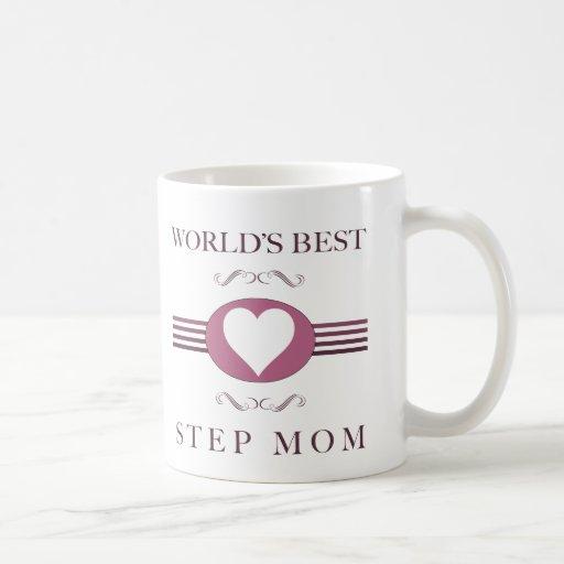 Worlds Best Step Mom Coffee Mug