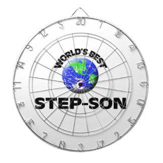 World's Best Step-Son Dartboard