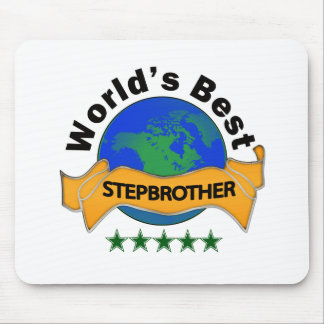 World's Best Stepbrother Mouse Pad