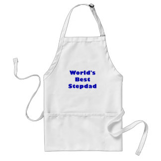 Worlds Best Stepdad Adult Apron