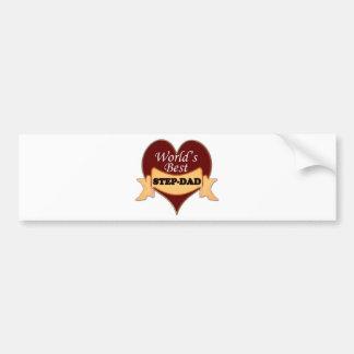 World's Best Stepdad Bumper Sticker