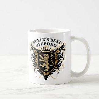 World's Best Stepdad Classic White Coffee Mug