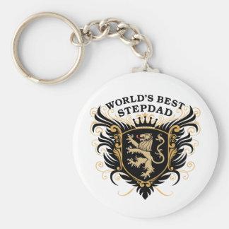 World's Best Stepdad Keychain