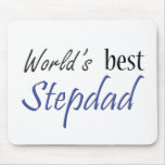 World's Best Stepdad Mouse Pad