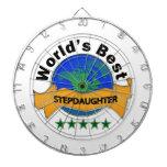 World's Best Stepdaughter Dart Board